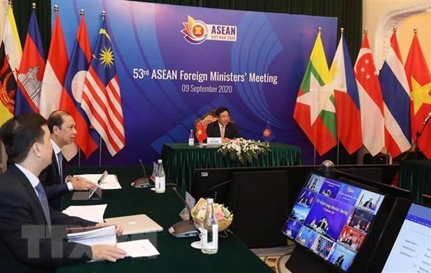 UE y Laos aprecian el éxito de la AMM 43 y el desempeño de Vietnam en su celebración - ảnh 1