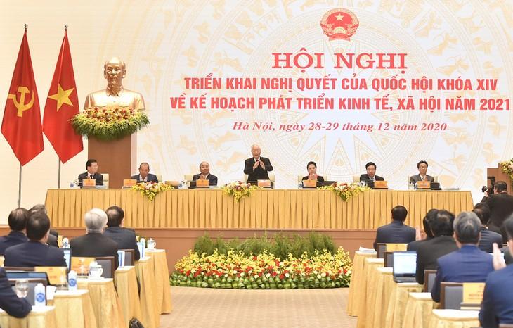 2020 es el año más exitoso de Vietnam en el último lustro, según Nguyen Phu Trong - ảnh 1