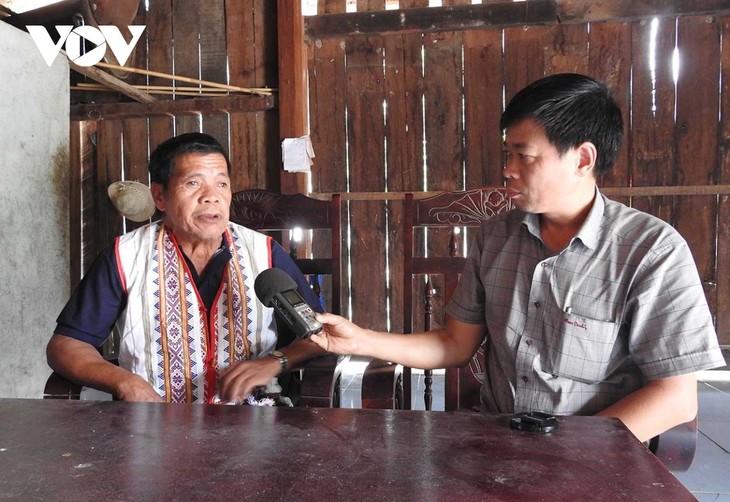 A Blong, el entrañable patriarca de la etnia Ro Mam en Kon Tum - ảnh 1