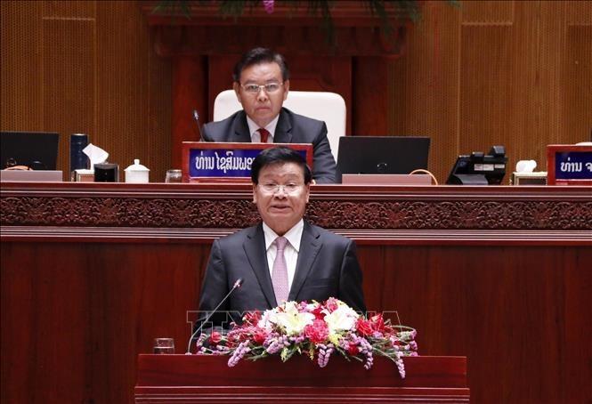 Lãnh đạo Việt Nam chúc mừng lãnh đạo CHDCND Lào - ảnh 1