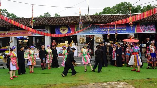 Vibrantes actividades en saludo al Día cultural de las Etnias de Vietnam - ảnh 1