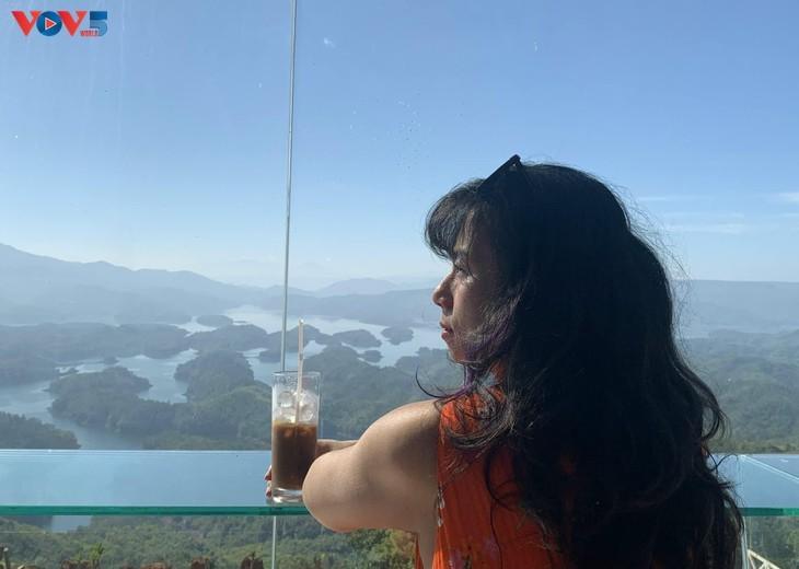 "Lago Ta Dung - ""bahía de Ha Long"" en la meseta - ảnh 10"