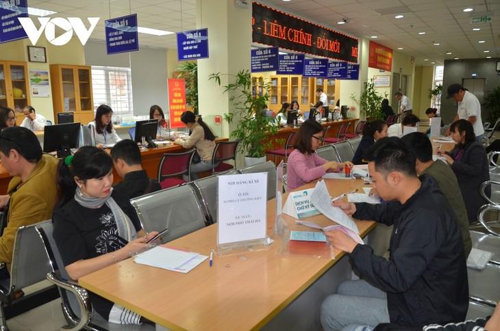 Bancos vietnamitas promuevan operaciones digitales - ảnh 1