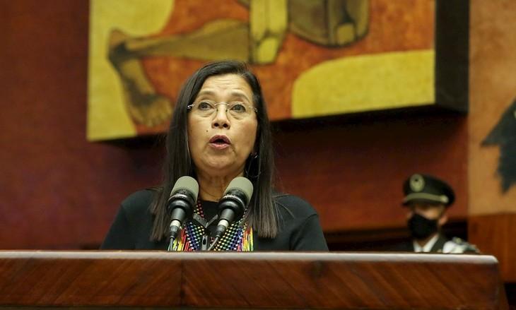 Ecuador: representante de partido indígena de izquierda elegida como presidenta del Legislativo - ảnh 1