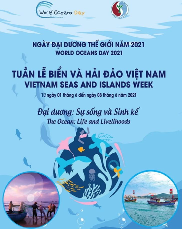 Impulsan la divulgación en línea sobre la Semana de Mar e Islas de Vietnam y el Día Mundial de los Océanos - ảnh 1