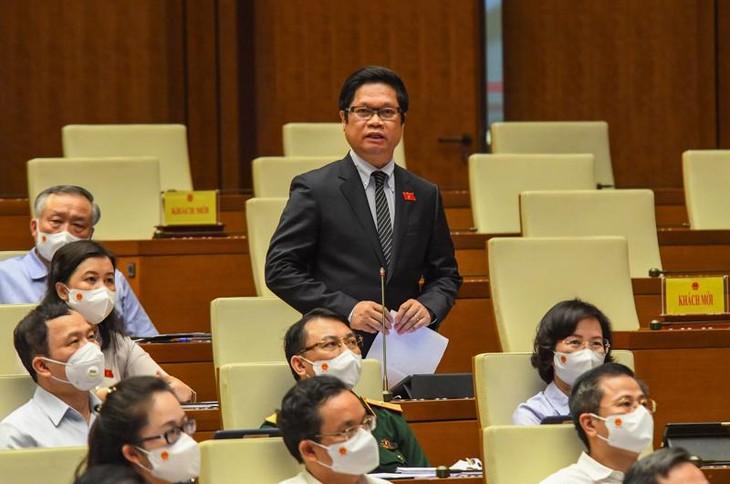 Parlamentarios vietnamitas apuntalan al combate anti-coronavirus para el desarrollo socioeconómico - ảnh 1