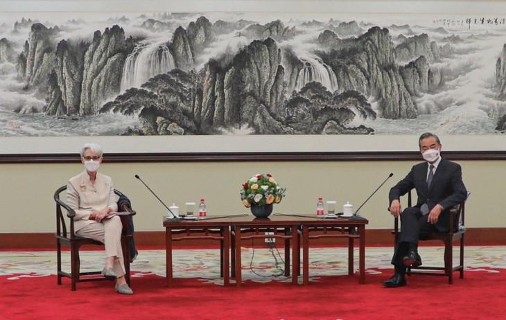 Encuentros bilaterales entre Estados Unidos y China en Tianjin - ảnh 1