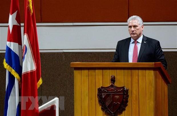 Máximo líder cubano expresa agradecimiento por la ayuda de Vietnam y amigos internacionales  - ảnh 1