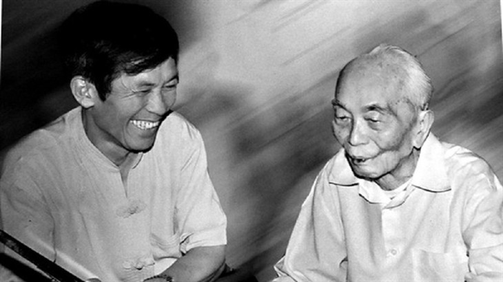 El general Vo Nguyen Giap a través de la lente del fotógrafo Tran Hong - ảnh 1