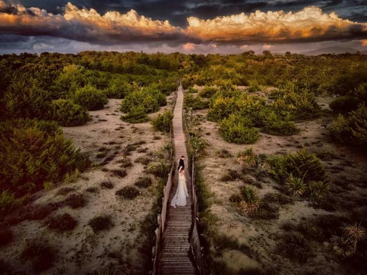 Foto de la laguna de Tam Giang: ganadora de Drone Photo Awards - ảnh 8