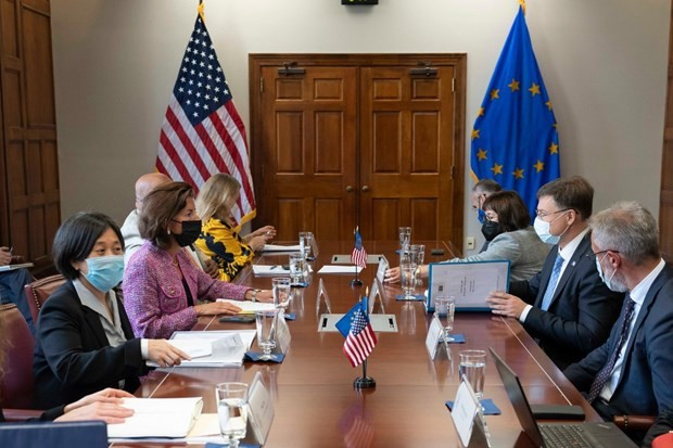 Unión Europea y Estados Unidos continúan recuperando las relaciones transatlánticas - ảnh 1