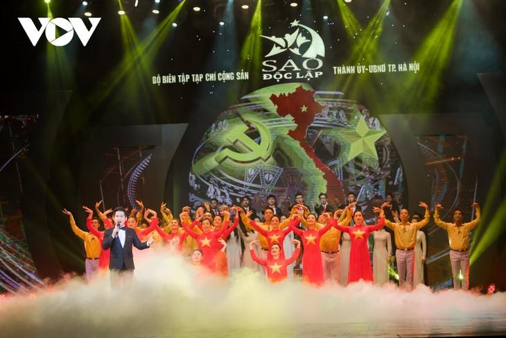 Espectáculo artístico en ocasión del Día de Liberación de Hanói - ảnh 1