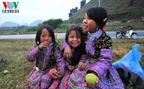 新年を迎えるモン族の人々 - ảnh 10