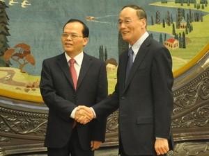 越共産党代表団、中国訪問 - ảnh 1