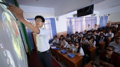 ホーチミン市の中学校、3D授業を導入 - ảnh 1