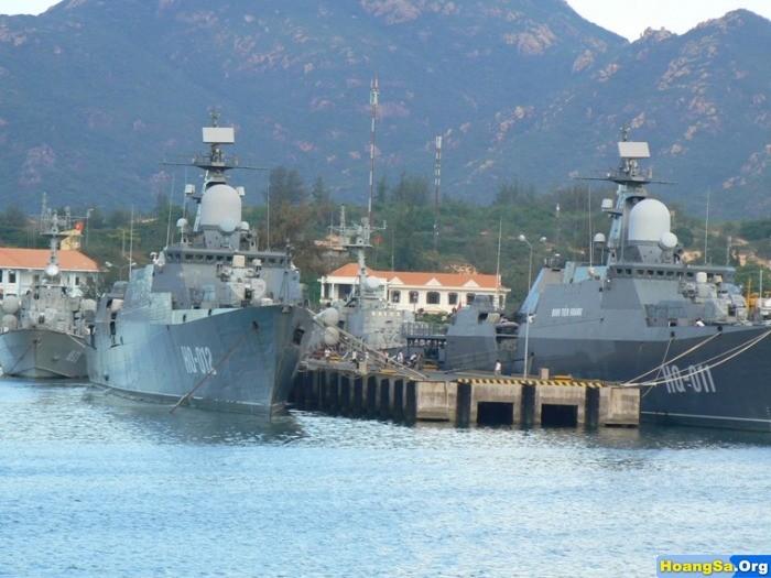 ベトナム軍艦、中国海軍と共同巡査 - ảnh 1