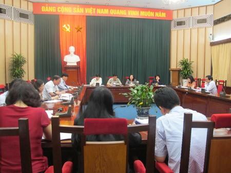国会社会委、全体会議を開催 - ảnh 1