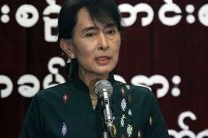 ミャンマー最大野党、15年の総選挙に参加表明 - ảnh 1