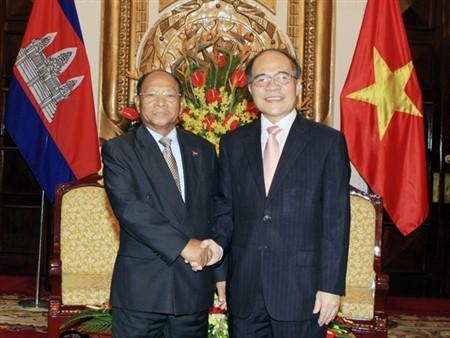 カンボジア国会議長、ベトナム訪問 - ảnh 1