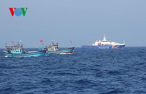 中部漁民、中国の横暴な行為にも屈せず - ảnh 10