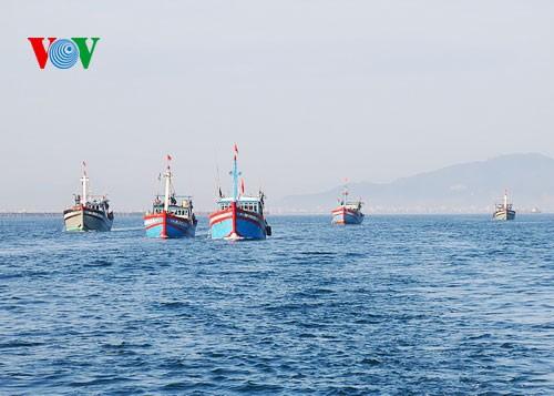 中部漁民、中国の横暴な行為にも屈せず - ảnh 2