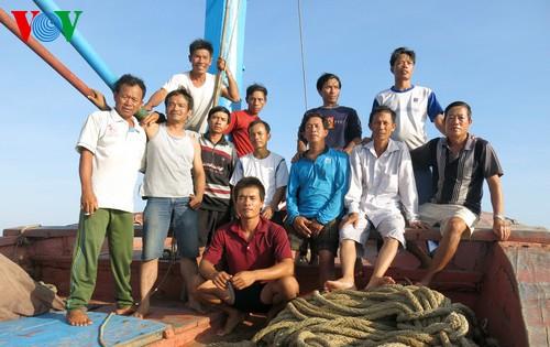 中部漁民、中国の横暴な行為にも屈せず - ảnh 11