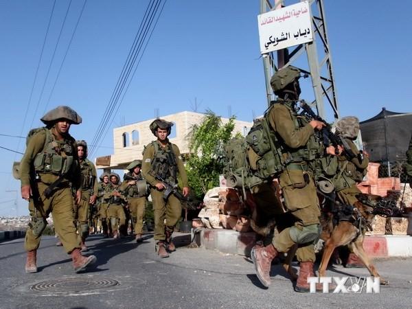 ガザ地区周辺へ兵士追加派遣したイスラエル - ảnh 1