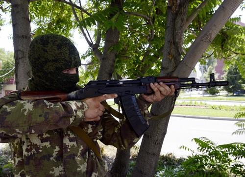 ウクライナ:政府軍、東部3都市を奪還 - ảnh 1