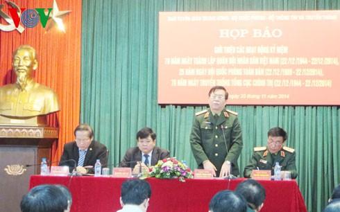 人民軍創立70周年記念式典 - ảnh 1