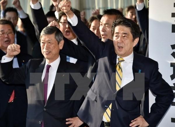 日本衆院選、始まる  - ảnh 1