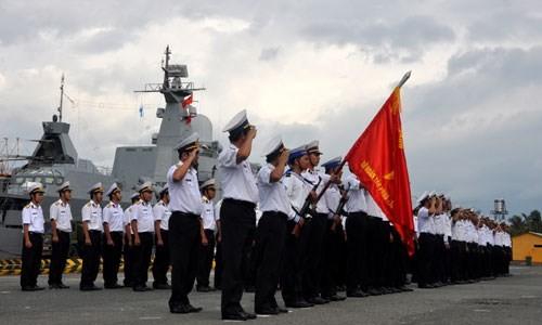 ベトナム人民海軍創設60周年記念の宣伝活動 - ảnh 1