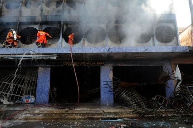タイ南部で爆弾テロ・放火相次ぐ、6人死亡11人負傷  - ảnh 1