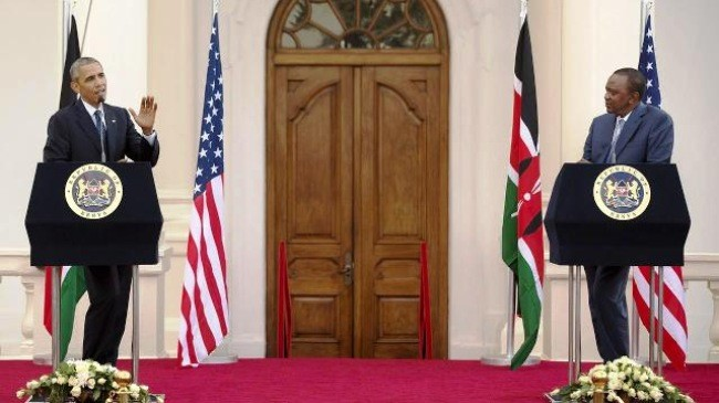 米・ケニア首脳会談 - ảnh 1