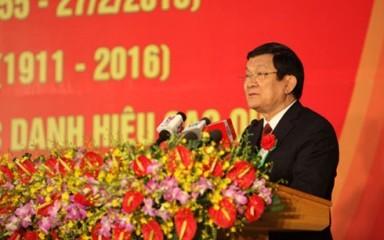 サン主席、バクマイ総合病院設立105周年記念式典に列席 - ảnh 1