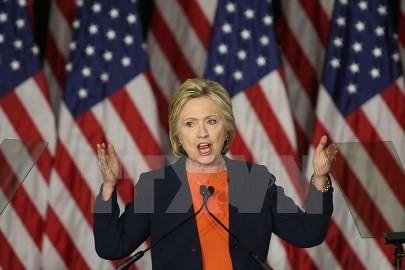 米大統領選、クリントン氏がトランプ氏をリード 最新世論調査 - ảnh 1