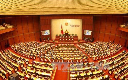 国会、ベトナム組織機構と首相再選決議を討議 - ảnh 1