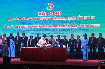 第10回ベトナム・フランス地方協力会議、閉幕 - ảnh 1