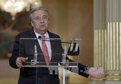 国連総会、次期事務総長にグテレス氏を任命 元ポルトガル首相 - ảnh 1