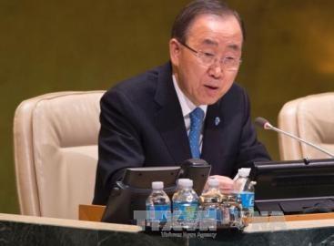 潘国連事務総長「トランプ氏はパリ気候変動協定守るべき」 - ảnh 1