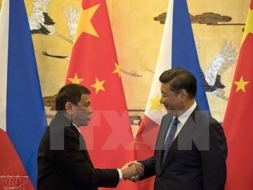 中国主席、比の役割を称賛=ドゥテルテ大統領と電話協議 - ảnh 1