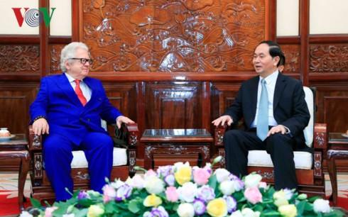 クアン主席、越駐在各国大使と個別会見 - ảnh 4