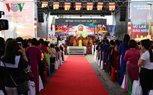 チェコ在住ベトナム人仏教徒による盂蘭盆会2017の儀式 - ảnh 1