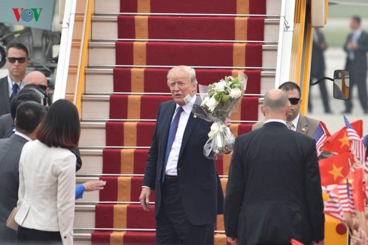 トランプ米大統領、ベトナム国賓訪問を終了 - ảnh 1