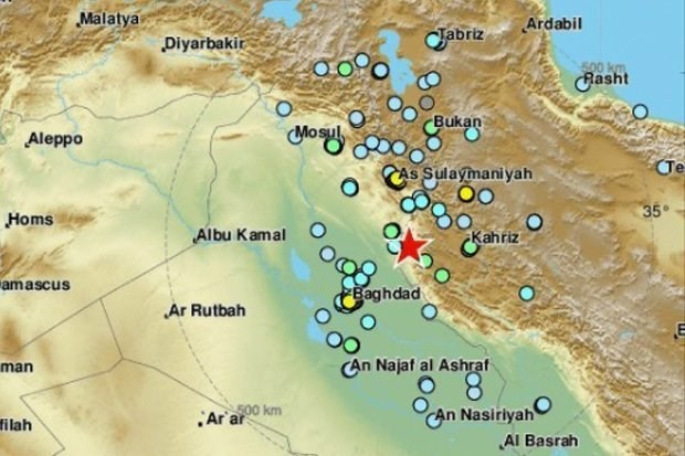 M6.3で400人超負傷=イラン西部 - ảnh 1