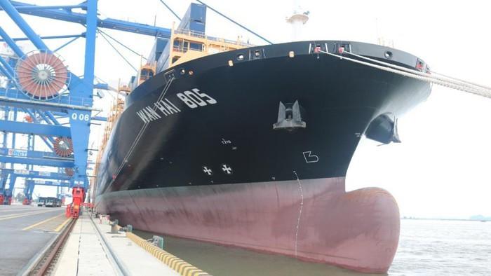 ハイフォンの国際コンテナ港、貨物船13万2000トンが寄港 - ảnh 1