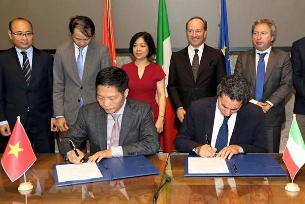 ベトナムとイタリア、経済協力を強化 - ảnh 1