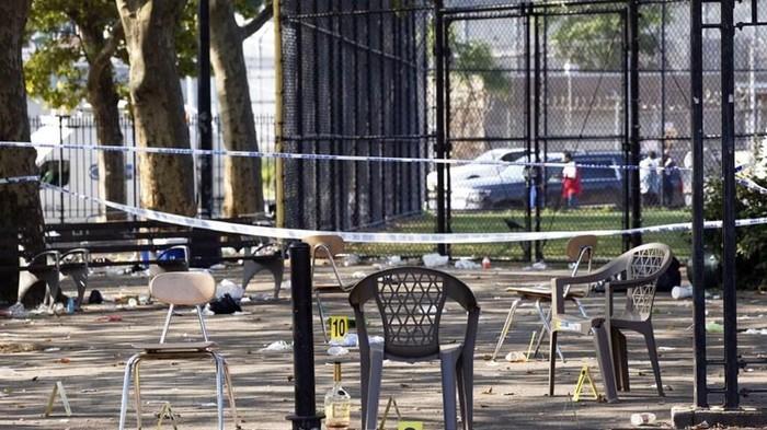 NYで銃乱射、1人死亡 イベント会場、11人負傷  - ảnh 1
