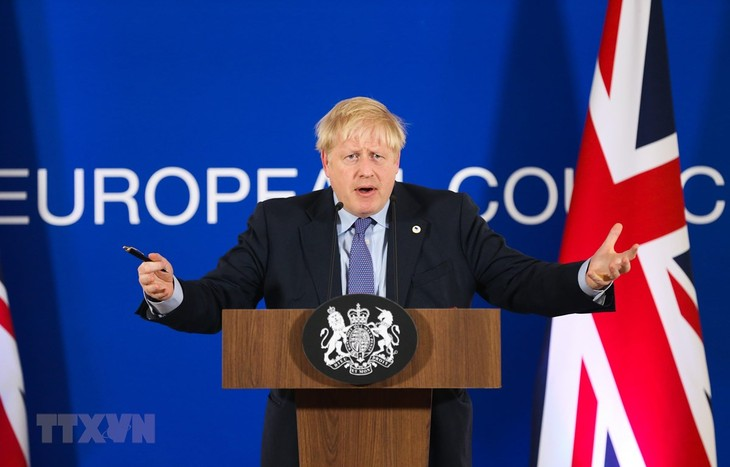英首相 総選挙で勝利すれば来年1月には離脱実現と強調 - ảnh 1