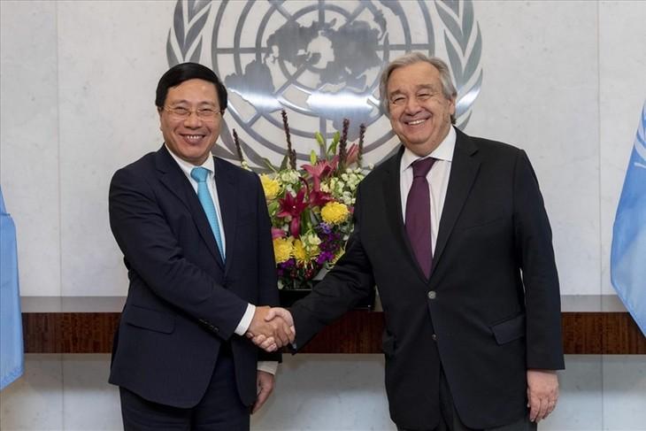国連事務総長、ベトナムの役割を評価 - ảnh 1