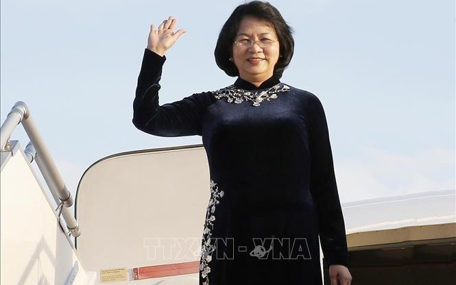 ティン国家副主席、インドを訪問 - ảnh 1
